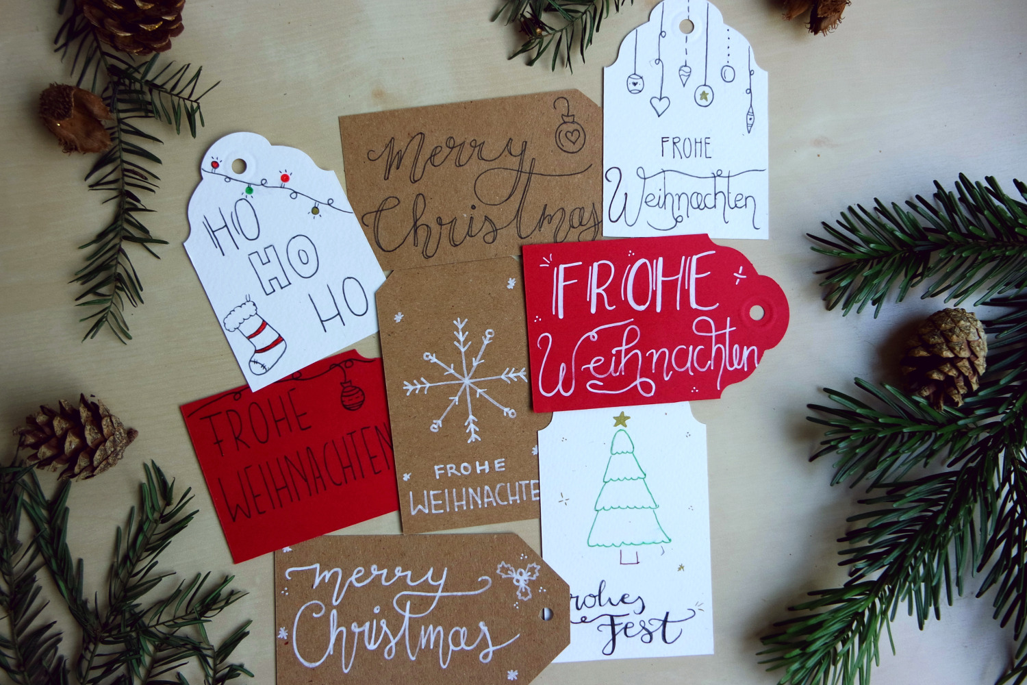 Handlettering cards