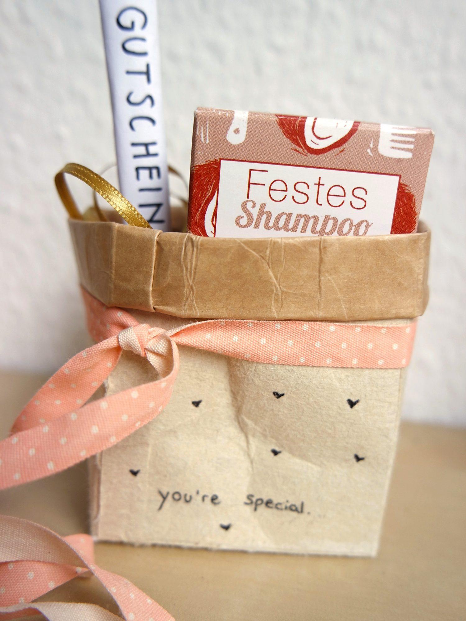 Tetra Pack Geschenkbox